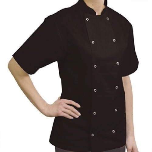 Danny Black Short Sleeve Jacket