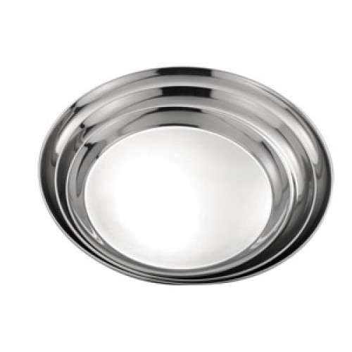 Round Stainless Steel Tray 35cm / 14""